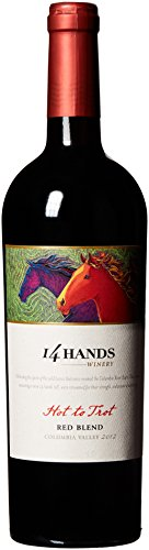 14 Hands Hot to Trot Smooth Red Blend, 750 ml