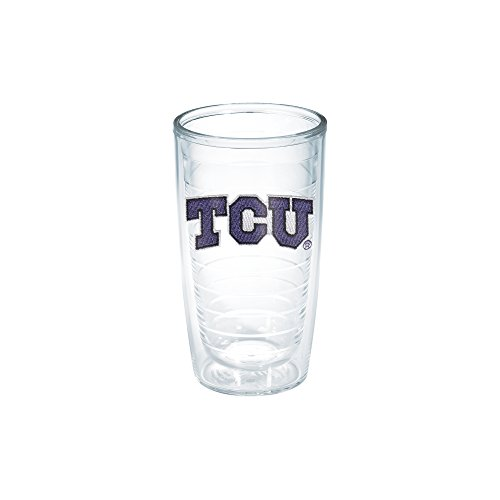 Tervis Texas Christian University Emblem Individual Tumbler, 16 oz, Clear