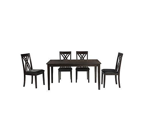 Ballard Office Set - Аbbеy Аvеnuе Deluxe Premium Collection Ballard Dining Set Dark Cherry Decor Comfy Living Furniture
