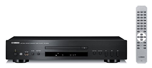 Yamaha CD-S300BL Compact Natural Sound CD Player Black