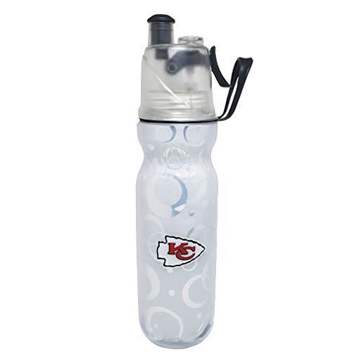 Mist 'n Sip Drinking and Misting Bottle - Kansas City Chiefs Logo