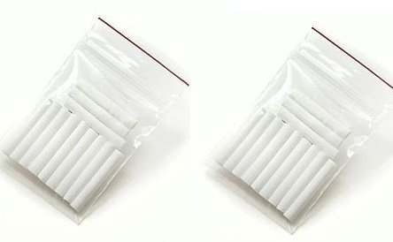 Aromatherapy Inhaler Refill Wick Stick Package of 24