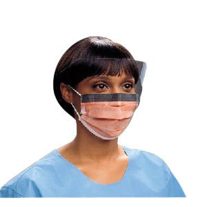 Fluidshield Procedure Mask with Wraparound Splashguard