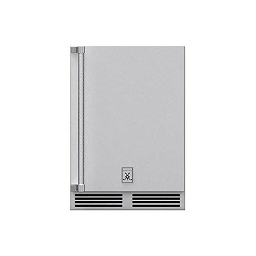 Hestan 24-inch 5.2 Cu. Ft. Right Hinge Outdoor Rated Compact Refrigerator - Grsr24