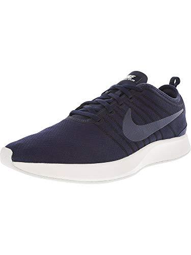 Nike Men's Dualtone Racer Se Obsidian/Obsidian-Off White Ankle-High Running Shoe - 11.5M -