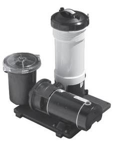 Waterway Plastics 806105098115 50 Sq.-Feet Complete 1 hp TWM Cartridge Above Ground Pool Filter System