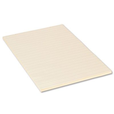 Tag Manila Chart Paper (Manila Tag Chart Paper, Ruled, 24 x 36, White, 100 Sheets, Sold as 1 Each)