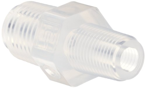 Parker pfa pipe fitting reducer nipple quot npt male