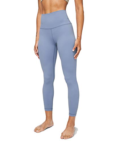 Lululemon Align II Stretchy Yoga Pants - High-Waisted Design, 25 Inch Inseam, Tempest Blue, Size 6 from Lululemon Athletica