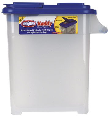 Kingsford Charcoal Dispenser Great For 20 L - 24 Lb. Bags by Buddeez