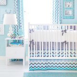 New Arrivals 3 Piece Crib Bed Set, Piper in - Bed Avalon Set