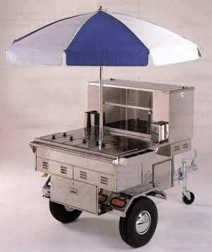 Towable Food Cart - CMS Model 325