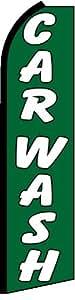 Car Wash King Size Swooper Flag Sign Pack of 2