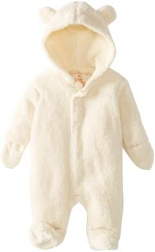 Magnificent Baby Unisex-Baby Infant Cream Hooded Bear Pram