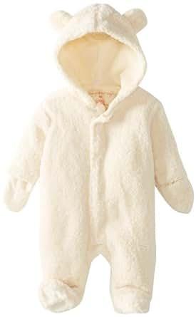 Magnificent Baby Unisex-Baby Infant Hooded Bear Pram, Cream, New Born