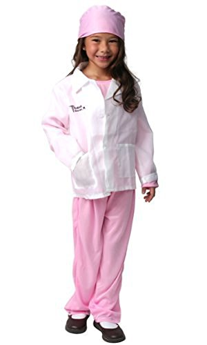 Girls Pink Medical Doctor Costume 4/6 (Nurse Costume For Kids)