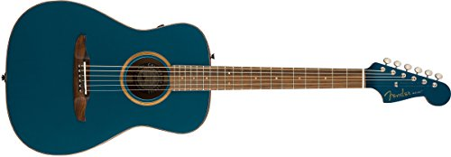 Fender Malibu Classic – California Series Acoustic Guitar – Cosmic Turquoise with Gig Bag