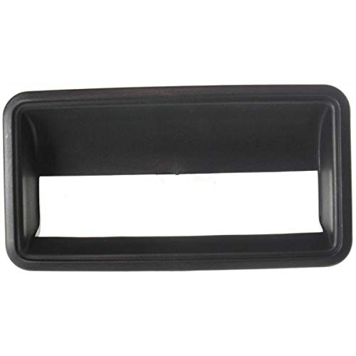 Parts N Go 1988-2000 Chevy Pickup Black Outer Tailgate Handle Tail Gate Liftgate - 15531113, GM1916101