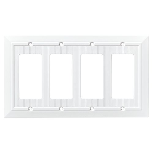 quad white switch plate - 7