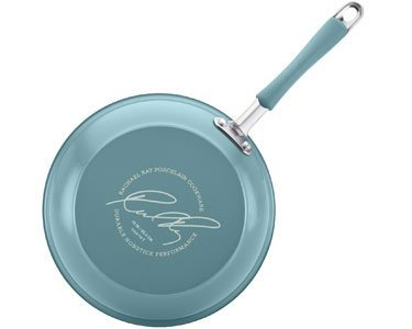 Rachael Ray Cucina Hard Porcelain Enamel Nonstick Cookware Set