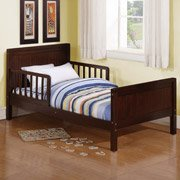 Baby Relax - Nantucket Toddler Bed, Dark Cherry by Baby Relax