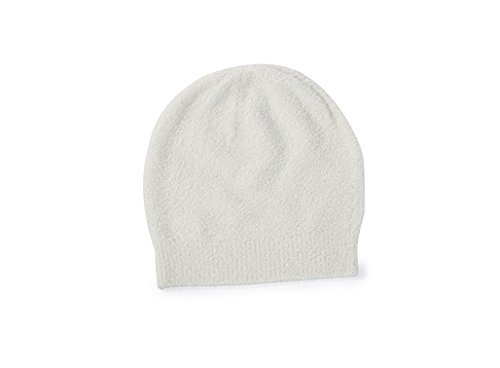 BAREFOOT DREAMS BAMBOO CHIC LITE INFANT BEANIE (S (6-12 months), PEARL)