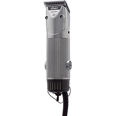 Oster Golden A5 Single Speed Animal Grooming Clipper with Detachable Cryogen-X #10 Blade