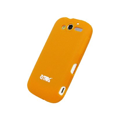 EMPIRE Orange Silicone Skin Cover Case Tasche Hülle for HTC myTouch 2010