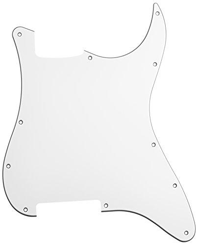 - Hosco Strat® Style Pickguard Blank 3-Ply White