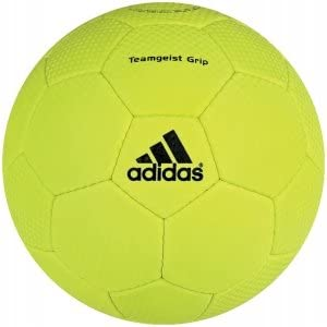 adidas Teamgeist Grip - Balón de balonmano de entrenamiento blanco ...