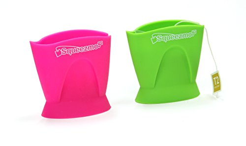 SqueezmoTea Squeeze Green Leaf and Raspberry - Shoe Sport Raspberry