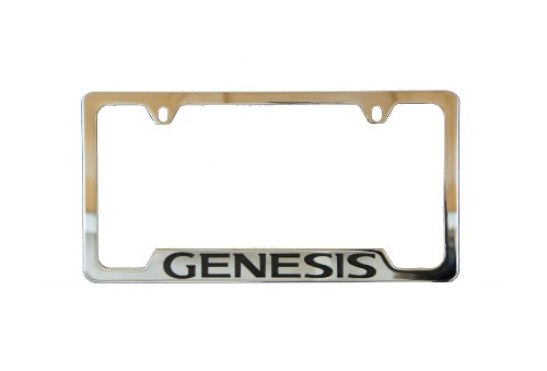 Genuine Hyundai Accessories 00402-31923 Chrome License Plate Frame for Hyundai Genesis -