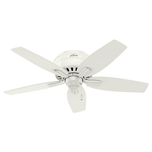 Hunter Fan Company 51080 Newsome Ceiling Fan with Light, 42''/Small, Fresh White by Hunter Fan Company (Image #7)