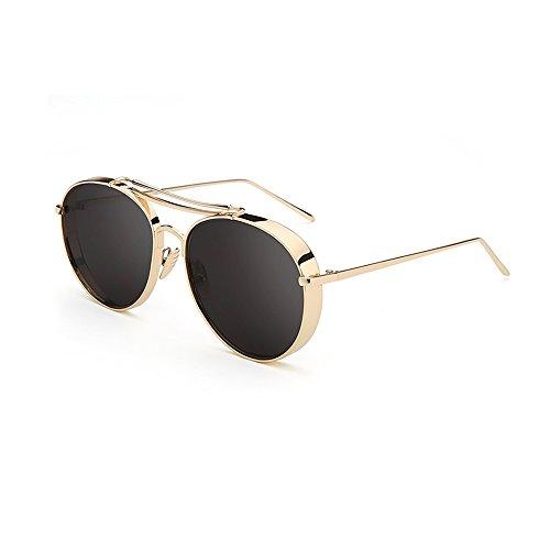 YQQ Gafas Polarizados 4 De HD Sol Amantes Anti Moda Unisex Gafas Anti Deporte Retro Sol Gafas Conduciendo UV De Gafas Reflejante Color De Vidrios 4 5rqwarSEx