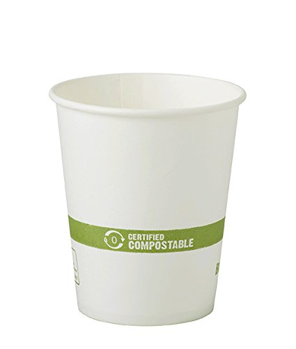 Fiber Ingeo - World Centric Hot Paper Cup with Ingeo Lining, 6 Ounce - 1000 per case.