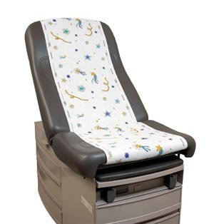 Stars of Hope Printed Pediatric Exam Table Paper Rolls Size: 21'' x 1500''