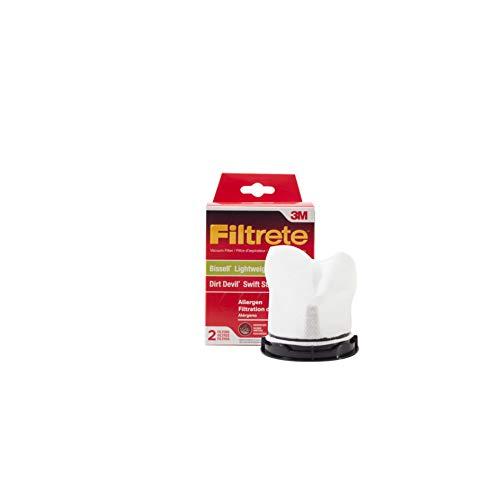 3M Filtrete Bissell/Dirt Devil Lightweight & Hand Vac/Swift Stick Allergen Vacuum - Vac Filter Eureka Stick