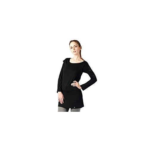 Zergatik Camiseta Zergatik Mujer Camiseta Black Warren RSUF57n