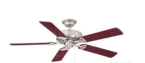 Farmington 52 in. Indoor Brushed Nickel Ceiling Fan