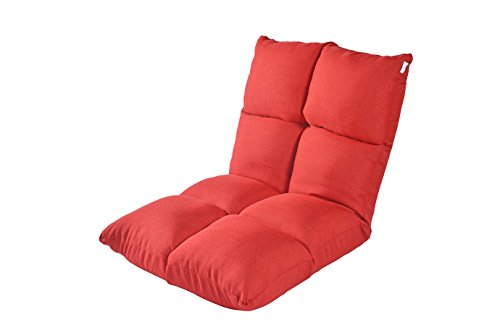 e-joy Floor Chair Home Essential/Lovers Folding Sofa A Lazy Man Sofa/Normal Version, Red