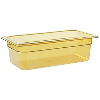 Amazoncom Cambro Camwear Food Storage Containers Amber 13 Size 4