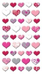 Puffy Dimensional Stickers-Lovely - Puffy Large Heart