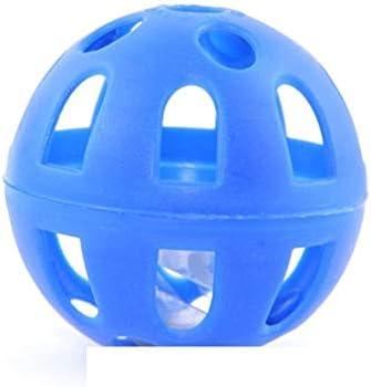 Pelota plástico azul con cascabel gato my-animalerie: Amazon.es ...