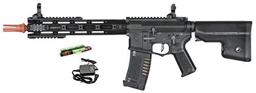 """Ares Amoeba CG series AM-009, 11.5"""" M4 AEG 6mm Airsoft Rifle w/ MOSFET & Quick Spring Rel. (COMBO)"""