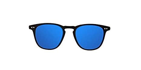 Northweek Wall Jibe, Gafas de sol Unisex, Multicolor (Matte Black/Blue Polarized), 45