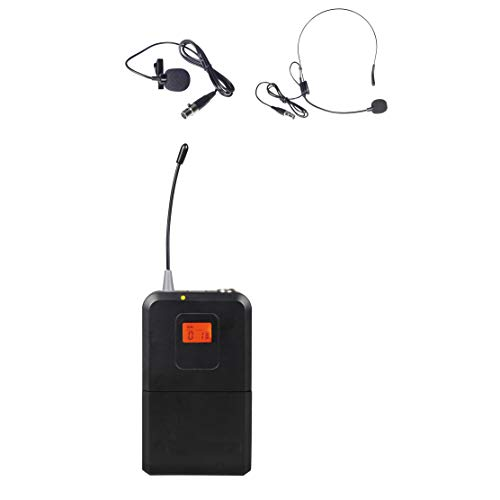 Aplomb BodyPack Transmitter with Lapel & Headset Mic for WM333 WM333B