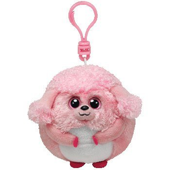 d071f0e684e Image Unavailable. Image not available for. Color  Ty Beanie Ballz - Lovey-Clip  the Poodle
