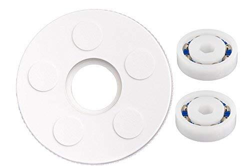 CMP Polaris Cleaner Small Idler Wheel C16 w/ 2 Bearing 9-100-1108 Replacement