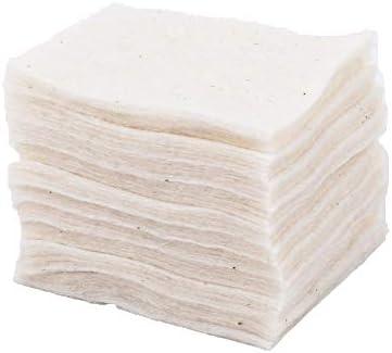 30 almohadillas de algodón orgánico japonés puro de 60 x 50 mm ...