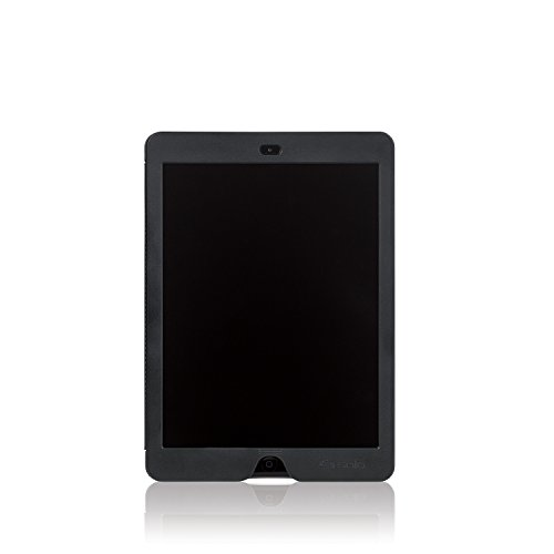 Solo Slim Case for iPad Air with Privacy Screen, Black (Swiss Screen)